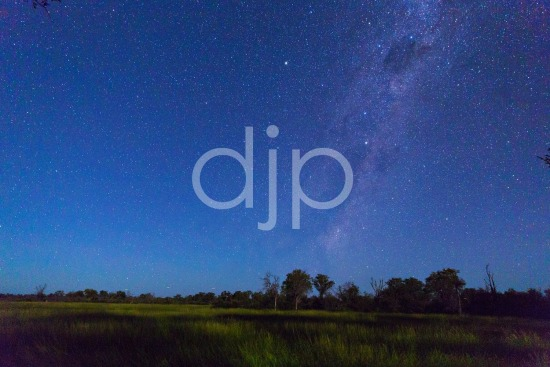 Milky Way over Botswana II