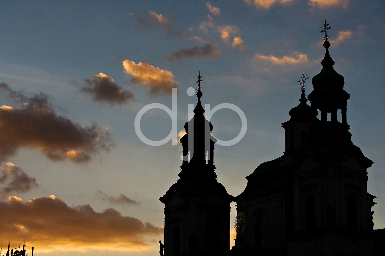 St. Nicholas Church Silhouette