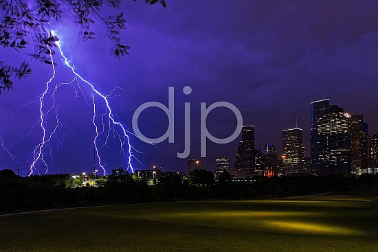 Electric Houston Skyline II