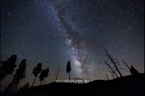 Milky Way Time-Lapse in New Mexico - Part 1